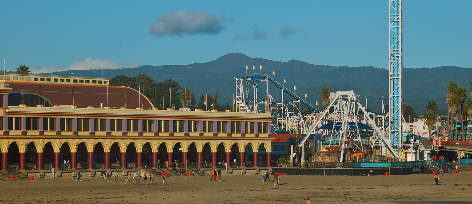 OUR IDEAL SANTA CRUZ LOCATION IS STEPS FROM TOP ATTRACTIONS
