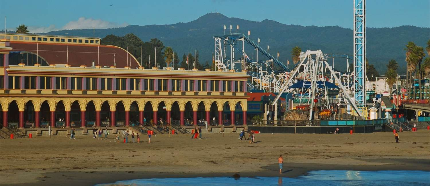 POPULAR SANTA CRUZ, CALIFORNIA ATTRACTIONS ARE STEPS AWAY